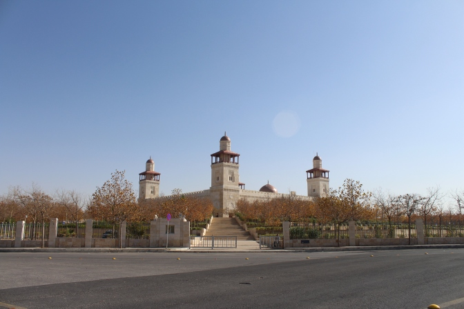 Beatiful mosques of Amman
